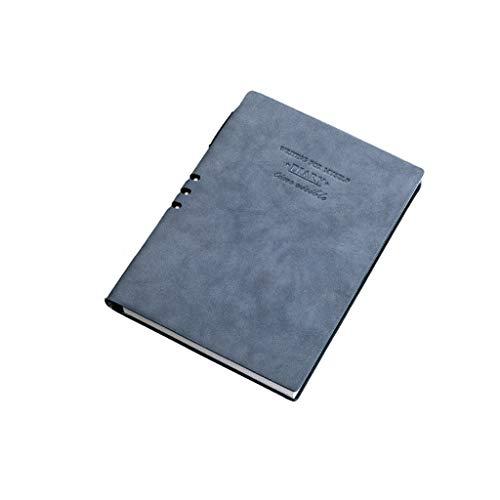 LCJQ Cuadernos de redacción Cuadernos Diario Diario Bloc de Notas Premium Papel Grueso de Cuero de imitación de Escritura Diario con Snap Se Utiliza for la Escuela De Viajes Papel