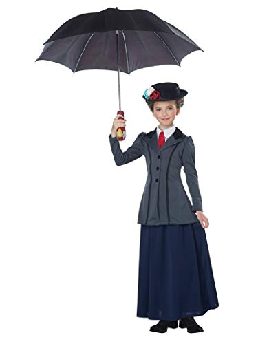 California Costumes Girls English Nanny Child Costume