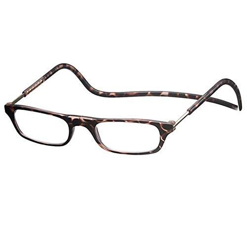老眼鏡 CliC readers(クリック リーダー) マットブラウン +1.50