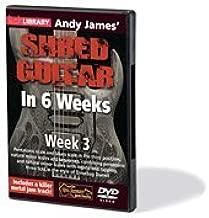 Andy James' Shred Guitar in 6 Weeks Week 3