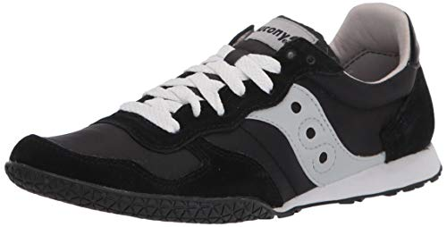Saucony mens Bullet Sneaker , Black/Grey , 11 M US