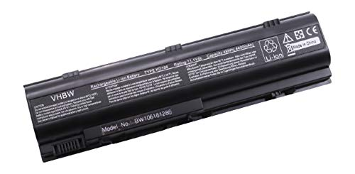 vhbw Replacement Battery compatible with Dell Inspiron 1300, B120, B130 Laptop (4400mAh, 11.1V, Li-Ion)