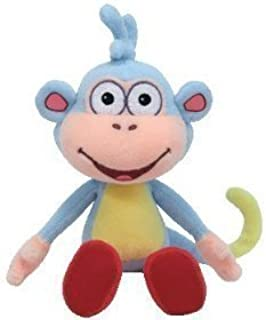 Pelúcia Macaco Botas Da Dora A Aventureira 20cms TY!