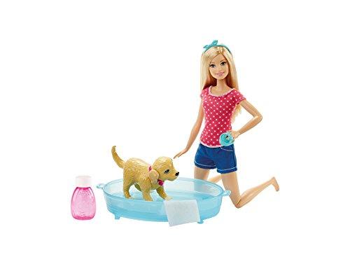 Barbie DGY83 - Bambola Bagnetto dei Cuccioli