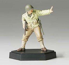 タミヤ MM フィギュアコレクション 1/35 アメリカ歩兵攻撃 下士官A 完成品 26006