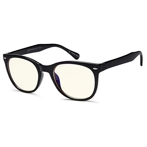 Gafas Gamma Ray para ordenador, con protección contra UV y contra luz azul, con cristales antirreflejantes y resistentes a arañazos