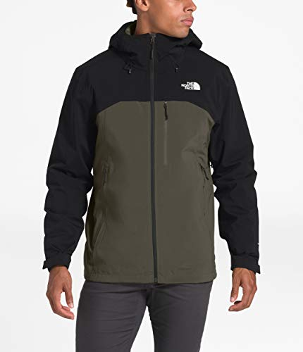 The North Face Men's Thermoball Eco Triclimate Jacket, New Taupe Green/TNF Black, M