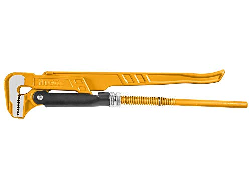 INGCO giratubi 1' mod. svedese ganasce 90° in acciaio forgiato professionale giratubo