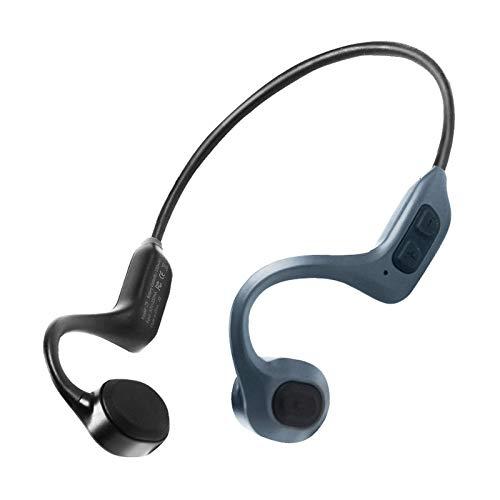BJ&HH Auriculares para Audífonos De Conducción Ósea, Pastillas De Pulsera, Colectores De Sonido, Auriculares Inteligentes con Cancelación De Ruido, Versión Bluetooth,One