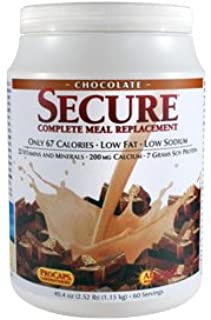 Andrew Lessman Secure Soy Complete Meal Replacement - Chocolate, 100 Servings