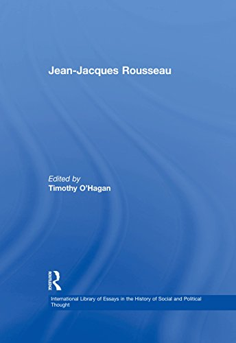 Jean-Jacques Rousseau (International Library of Essays in the History of Social and Political Thought) (English Edition)