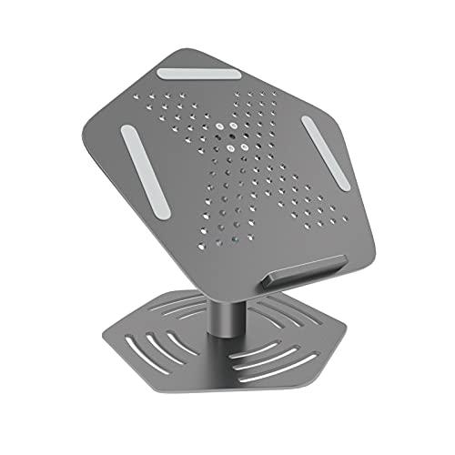 Supporto PC Portatile Rimovibile A Forte Stabilità, Laptop Stand in Lega Di Alluminio Aeronautico, Design Ergonomico Adatto per MacBook Air / Pro Da 10-17 Pollici, Lenovo, Samsung PC Portatile
