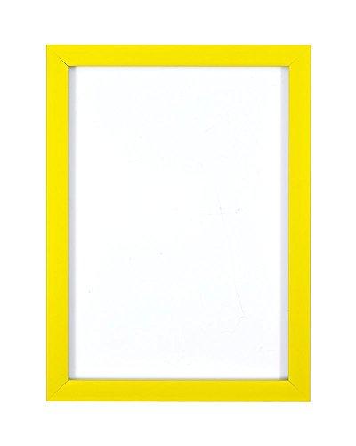 a3 - Rango arcoíris Marco para ilustraciones/ fotografías /Pósters con Vidrio acrílico - Amarillo