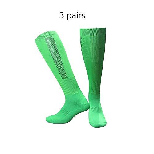 Voetbalsokken voetbalsokken kniekousen antislip outdoor handdoek vloer effen sporttraining kousen voor hardlopen
