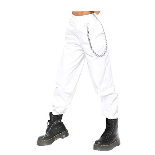 Hhckhxww Pantalones Harem De Cintura Alta Fina Pantalones Deportivos para Mujer Pantalones Deportivos De Ocio para Mujer