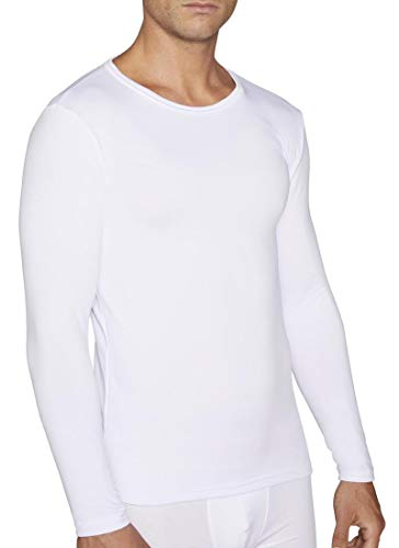 YSABEL MORA Camiseta Termica Manga Larga (Blanco, XL)