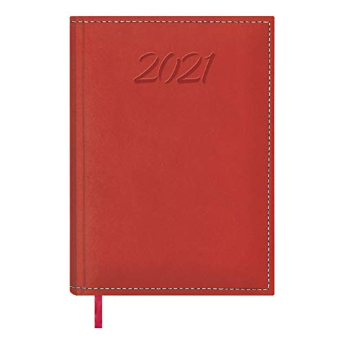 Dohe 12215 - Agenda Ipanema semana vista, color rojo