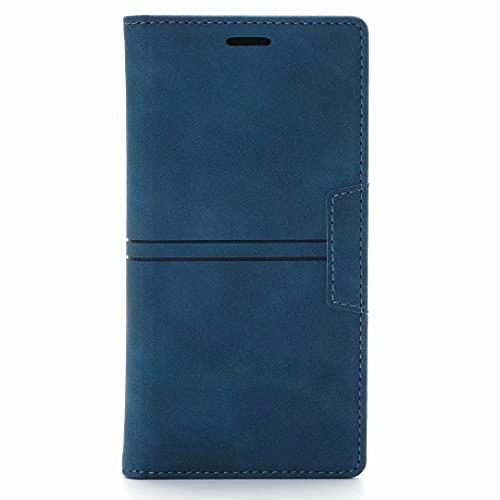 Funda para Samsung Galaxy S10, con cierre magnético de absorción de golpes, función atril, protección completa, funda de piel a prueba de golpes, para Samsung Galaxy S10, color azul