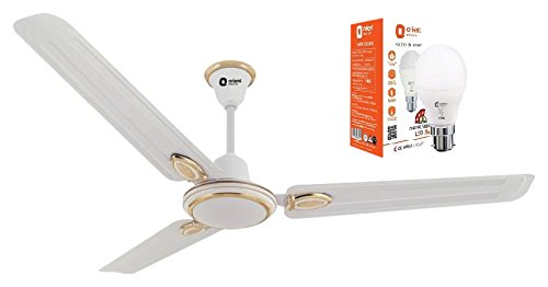 Orient Electric Pacific Air Decor 1200mm Ceiling Fan (White)...