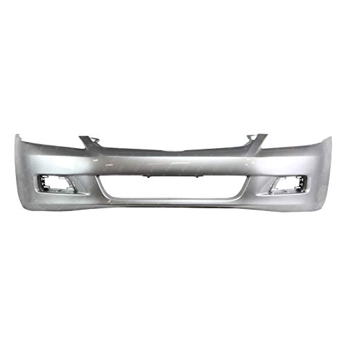BUMPERS THAT DELIVER - Painted NH700M Alabaster Silver Metallic Front Bumper Cover for 2006 2007 Honda Accord Sedan 4 Door 06 07, HO1000235