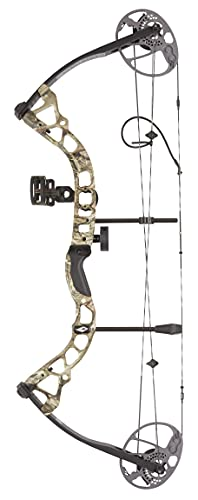 BowTech Diamond Prism Right Hand Bow-5-55# Breakup Country-B12766