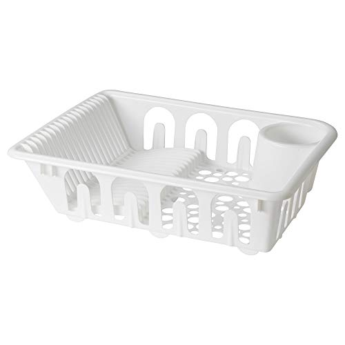 IKEA Flundra - Escurridor de platos, color blanco
