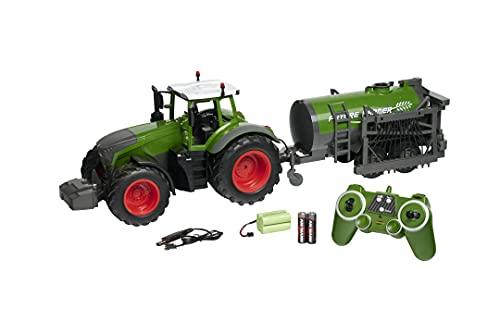 Carson 500907344 Tractor RC con Cisterna...