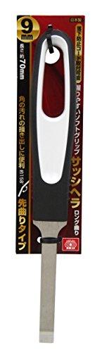 藤原産業 SK11 サッシヘラロング曲り 9mmマガリ