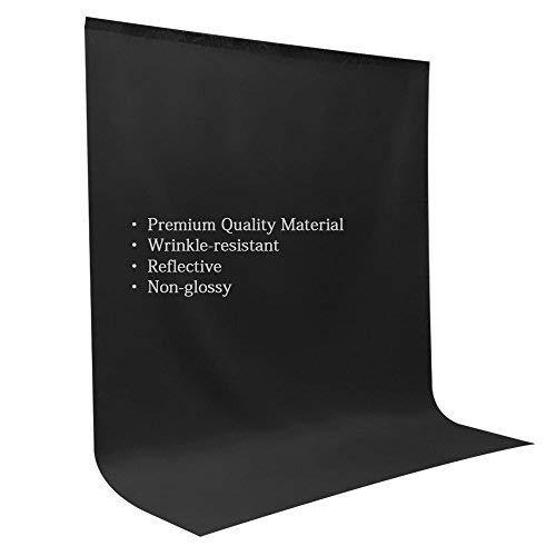 LimoStudio 10' x 12' Black & Green & White Chromakey Fabric Backdrop Background Screen, Photo Video Studio, AGG1933V2