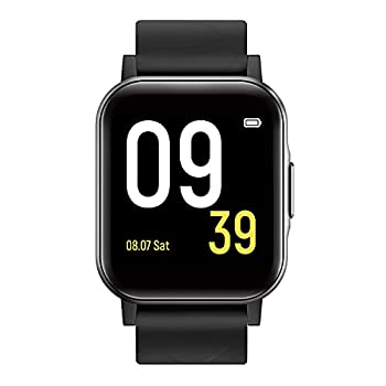 SoundPEATS Smart Watch Fitness Tracker with All Day Heart Rate Monitor Sleep Quality Tracker IP68 Waterproof 1.4  Large Touch Screen Call & Message Reminder 12 Sports Modes for iPhone Android Phones