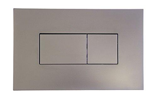 Betätigungsplatte für Vorwandelement | Drückerplatte | 2-Mengen-Spülung | Chrom | 30322 4