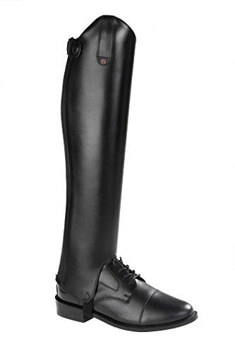 SUEDWIND FOOTWEAR Chap »Comfort FIT« Eleganter Stiefelschaft aus Rindleder | Reitschaft mit robustem Leder und Innenleder | auch in Kindergrößen erhältlich| Farben: Schwarz & Braun - XS 34/48