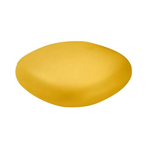Slide Chubby Pouf bas/Table basse Jaune safran