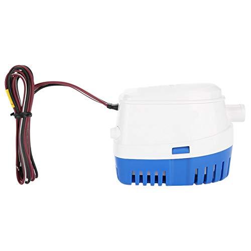 Bomba de sentina Bomba de agua de sentina sumergible automática para barco de 12V con interruptor de flotador