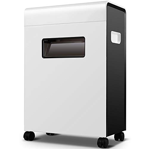 Affordable Cross Cut Paper Shredder for The Small or Home Office, 23 Litre Capacity and Overload The...