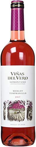 VIAS DEL VERO vino rosado botella 75 cl
