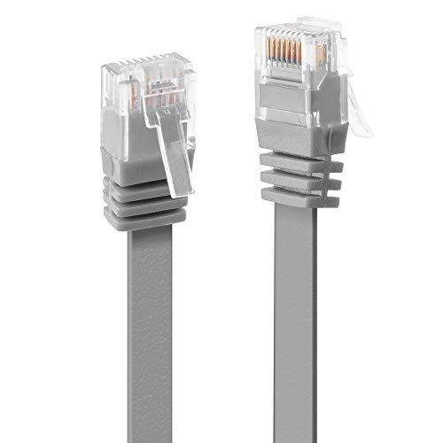 LINDY 47491 - Cable de Red Plano (Cat. 6, UTP, 1 m),...