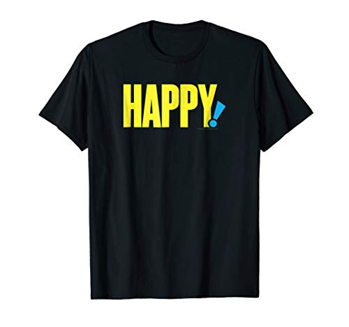 Happy! Logo Comfortable T-Shirt - Official Tee
