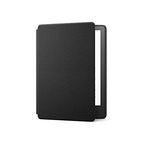 Capa de couro para Novo Kindle Paperwhite (11ª geração - 2021) - Cor Preta