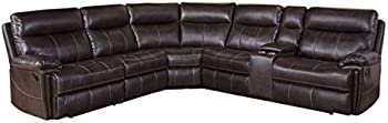 Abbyson Living Caterina 6-Piece Reclining Sectional