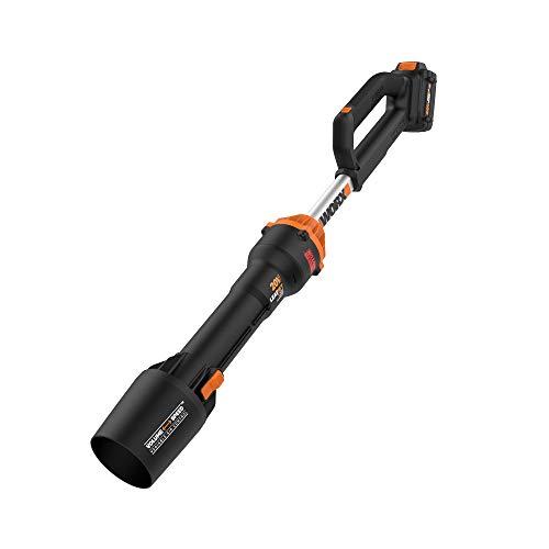 WORX WG543 20 V Power Share LeafJet Gebläse, Schwarz und Orange