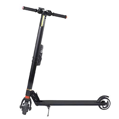 Opvouwbare elektrische scooter Al-Mg legering Smart Hoverboard skateboard 24V-8.8AH zwart