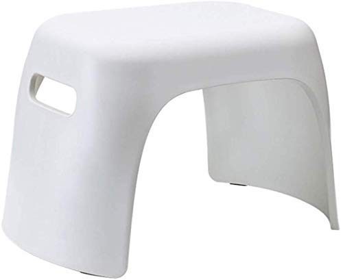 HYY-YY Step Stool, Plastic Small Stool,Multi Purpose Stackable Step Stool,for Kitchen, Bathroom, Bedroom, Kids Or Adults And More,White (Color : White)