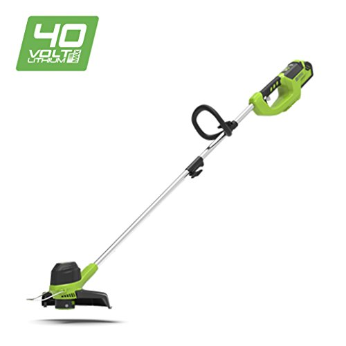 1 cap Bronkey String Trimmer Spool Line Replacement Compatibile con Greenworks 21332 21342 24 Volt 40V 80V con 3411546A-6 Weed Eater Stringa Autofeed cap Cordless Line Trimmer 16ft 8 Spool