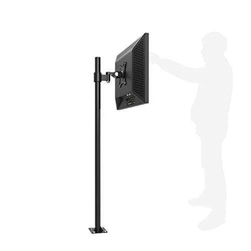 DGHJK Soporte para TV, Pantalla Soporte Universal Tipo de Piso Soporte móvil Elevación de pies Baño Sofá Mini Soporte de proyección Soporte para TV