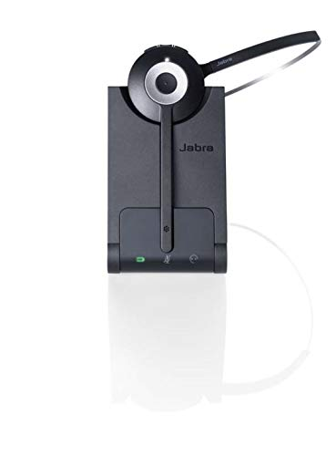 Jabra Pro 930 MS Duo DECT-Headset mit USB für PC/Softphones, Noise-Cancelling, 120m Reichweite, Skype for Business zertifiziert, inkl. Ladeschale