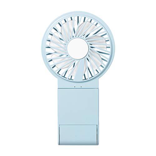 FRCOLOR Mini Ventilateur de Poche Ventilateur de Bureau Usb Petit Ventilateur de Table Portable Personnel Refroidissement Ventilateur Électrique Pliant pour Chambre de Bureau de Voyage