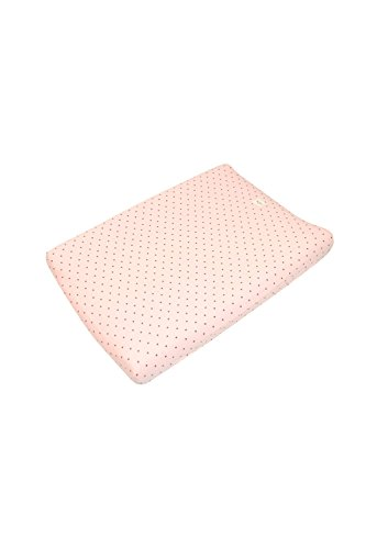 Fundas Bcn ® - F11 - Funda Cambiador Bebe 70x50 Centímetros - De Algodón – Suave, Elástica Y Adaptable (Little Fun Peach)