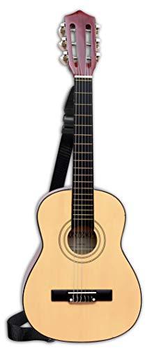 Bontempi 21 7520 Klassische Holzgitarre mit 6 Saiten