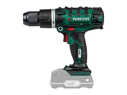 Parkside 3-in-1 Akku-Schlagbohrmaschine, 20 V, nur blanke Einheit, komplett mit Etui, max. Drehmoment 45 nm, 0-1650 U/min